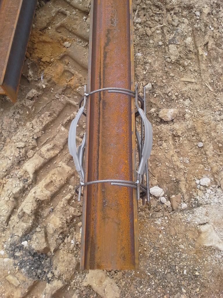 King Post Retaining Walls Advanced Mini Piling Systems