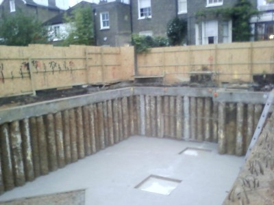 Basement Construction Amp Piled Retaining Walls Advanced