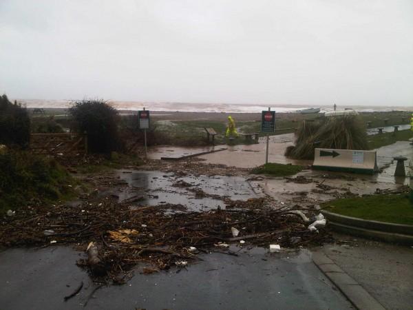 Branscombe, Devon, Storm force 10