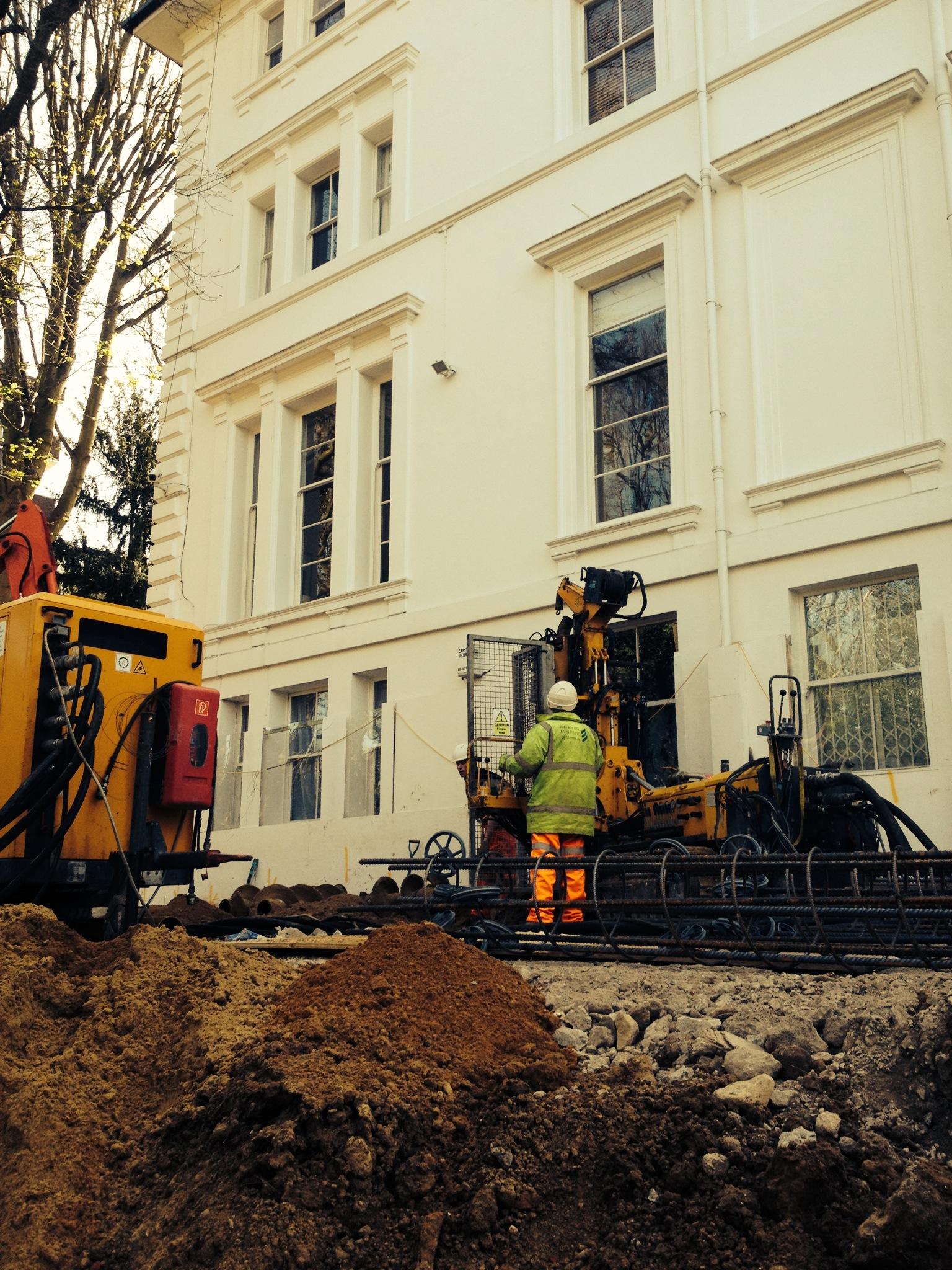 Camden Town Basement Contig Wall