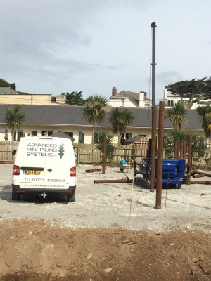 Driven Piling Polzeath